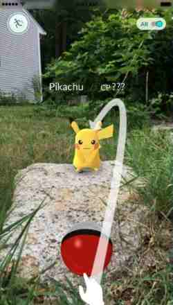 catching-pokemon-in-pokemon-go-screenshot