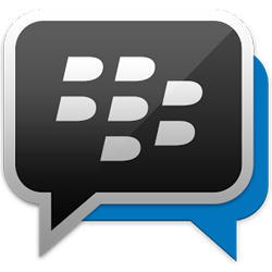 BBm for Android and iPhone and Blackberry icon