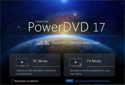 CyberLink PowerDVD Screenshot