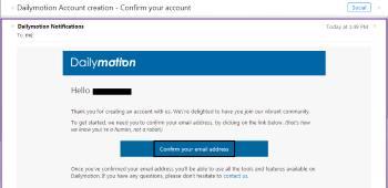 dailymotion-confirm-account-screenshot