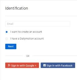 dailymotion-sign-up-screenshot