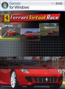 Ferrari Virtual Race Cover