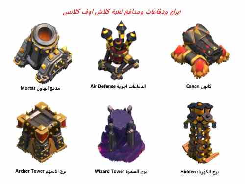 towers-and-defenses-clash-of-clans-screenshot